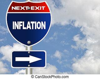 sinal estrada, inflação