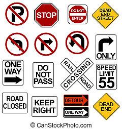 sinal estrada, jogo