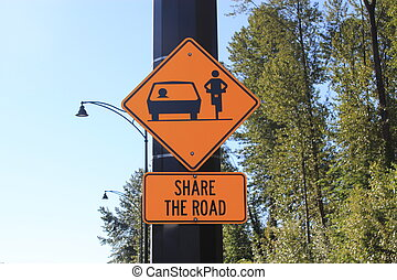 sinal estrada, parte