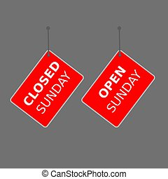 """sinal, experiência., tag, branca, """"today, sale"""", vermelho"""
