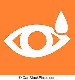 sinal, olho, ícone
