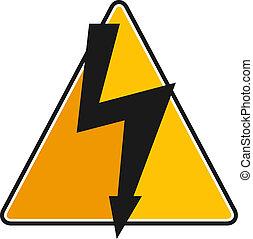 sinal voltagem alto