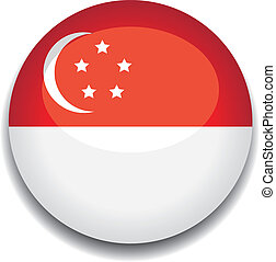 singapore button flag