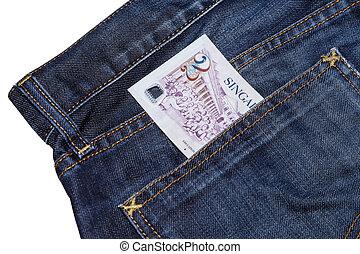 Singapore dollars bank note - Singapore two dollars bank ...