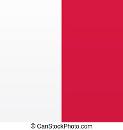 Singapore hanging Flag