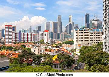 Singapore Housing with City View