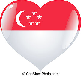 Singapore in heart