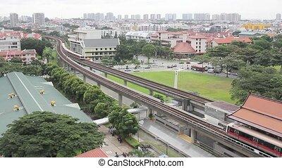 Singapore MRT Subway in Eunos 1080p - Singapore MRT Subway...