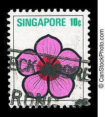 Singapore  post stamp