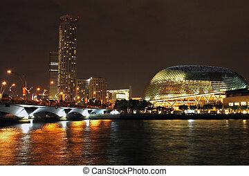 Singapore River - Singapore version of the Sydney Opera ...