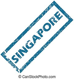 Singapore rubber stamp