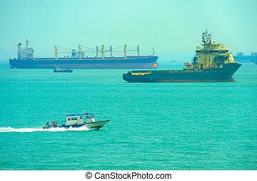 Singapore shipping tanker