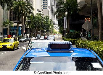 Singapore taxi