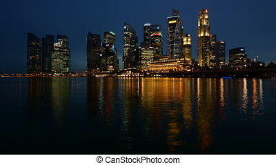 Singapore - time-lapse