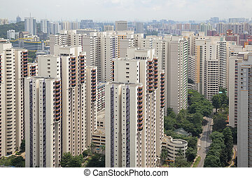 Singapore Typical Apartment Housing