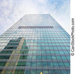 singapur, edificio de oficinas, rascacielos