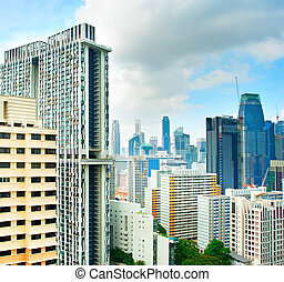 singapur, edificios