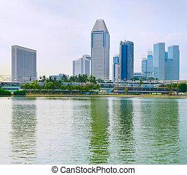 singapur, empresa / negocio, edificios