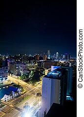singapur, nacht