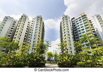 singapur, regierung, wohnungen