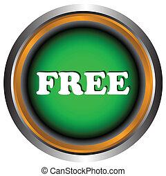 singel, gratis, ikon