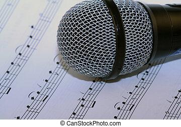 singen, a, lied