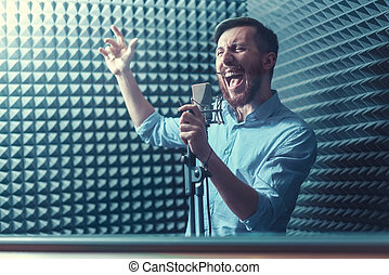 singende, mann