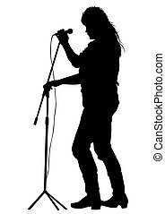 Singer of rock