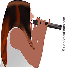 singer woman color