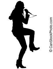 Singer women four