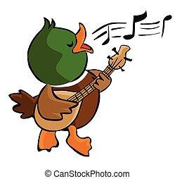 singing duck