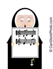nun - singing nun