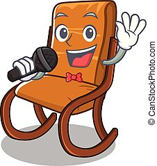 Singing rocking chair in the cartoon shape