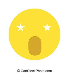 Singing smiley icon