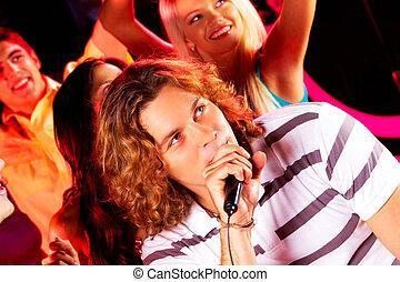 Singing song