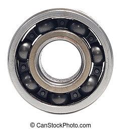 Single bearings isolated on white background