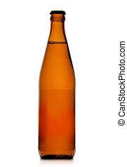 Single beer bottle