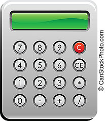 calculator - single big calculator