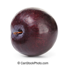 single black plum