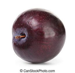single black plum