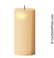 single candle icon