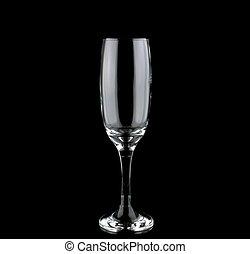 Single champaign flute