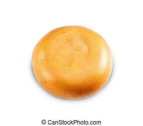 Single cheeseburger bun