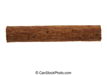 Single cinnamon stick