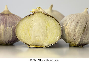 Single Clove Garlic - A single clove garlic onion really...