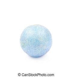 Single colored foam ball - Single blue colored foam ball or...