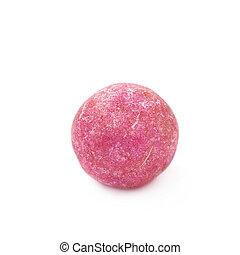 Single colored foam ball - Single pink colored foam ball or...