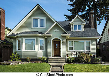 American craftsman house - Single-family American craftsman ...