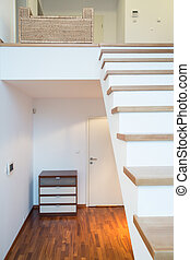Single-family home interior - Vertical view of single-family...