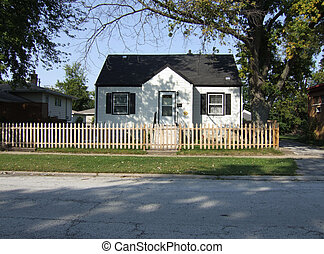 Single-family home - Typical suburban home in the south...